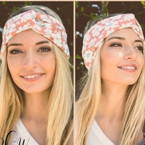 New▪️Floral twist headband
